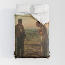 The Angelus Jean Francois Millet Comforters