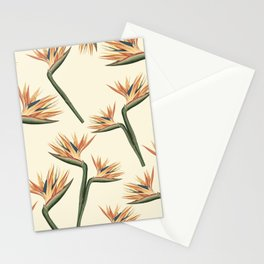 Birds of Paradise Flowers Stationery Cards