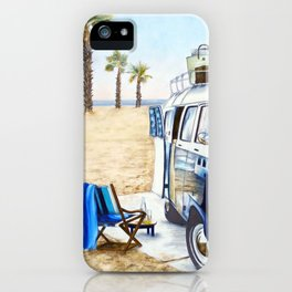 HOLIDAY AT THE BEACH iPhone Case