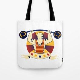Power Strongman Tote Bag