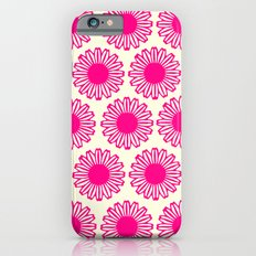 vintage flowers pink  Slim Case iPhone 6s