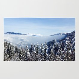 Snow Forest (Color) Rug