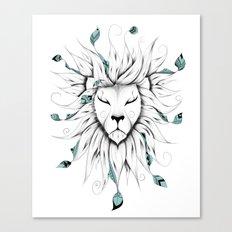Poetic King Canvas Print