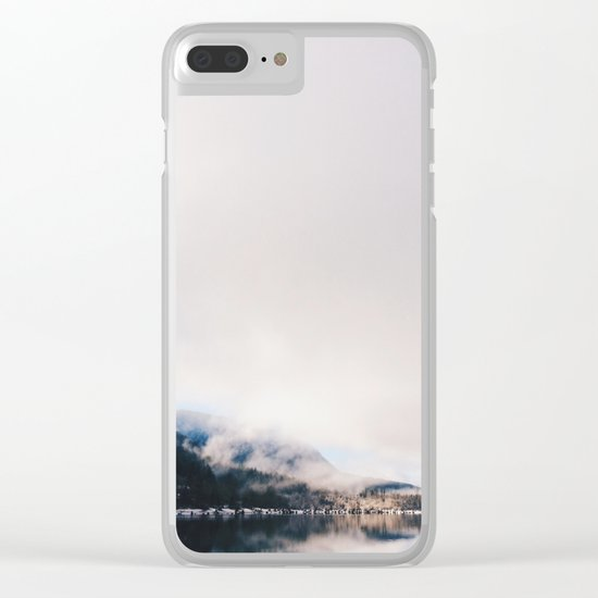Mountain Lake (iPhone) Clear iPhone Case