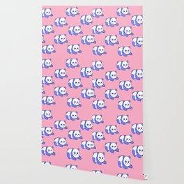 For the sleepy pandas Wallpaper