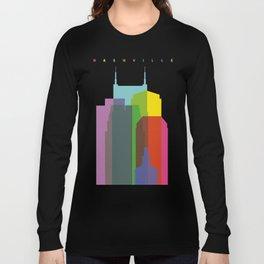 Shapes of Nashville Long Sleeve T-shirt