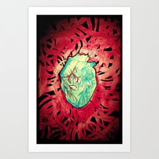The Sorce. Art Print