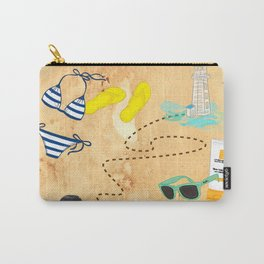 Discovering that I really love roadtrips when it's with the right people. By Priscilla Li Carry-All Pouch