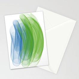 worm holes Stationery Cards
