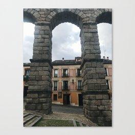 Acueducto de Segovia Canvas Print