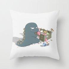 Godzelato! - Series 1: My Gelato Throw Pillow