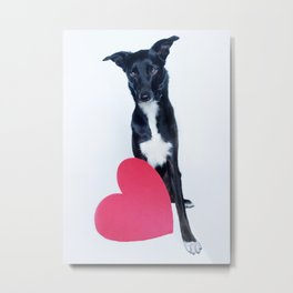 Little Valentine Metal Print