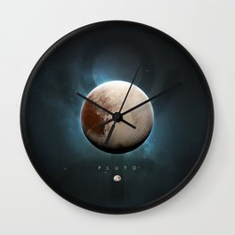 A Portrait of the Solar System: Pluto Wall Clock