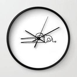 Fed up Wall Clock