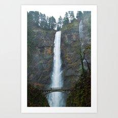 Multomah Falls Art Print