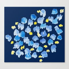 Blue Meadow Canvas Print
