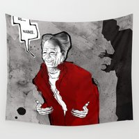dracula Wall Tapestries featuring Dracula by Ed Pires