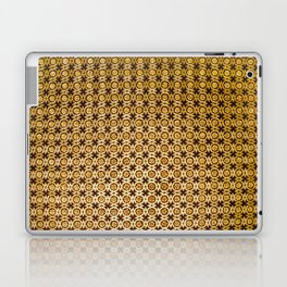 Gold and wood carving pattern Laptop & iPad Skin