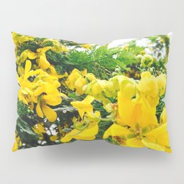 yellow flowers Pillow Sham