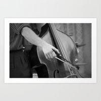 cello Art Prints featuring Cello by QuiXot