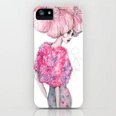Cotton Candy Hair // Fashion Illustration Slim Case iPhone (5, 5s)
