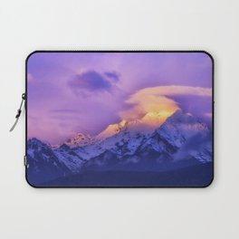 Meili Snow Mountain Shangri-la China Sunrise Laptop Sleeve