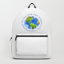 Live For Solidarity Backpack