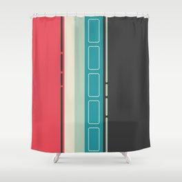 Retro 2 Shower Curtain