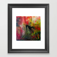 Greyhounds Framed Art Print