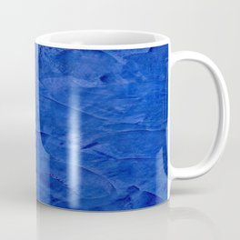Dark Blue Ombre Burnished Stucco - Faux Finishes - Venetian Plaster Coffee Mug