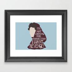 Milady De Winter Framed Art Print