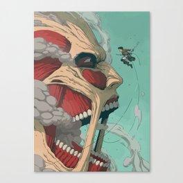 Colossal Titan Canvas Print