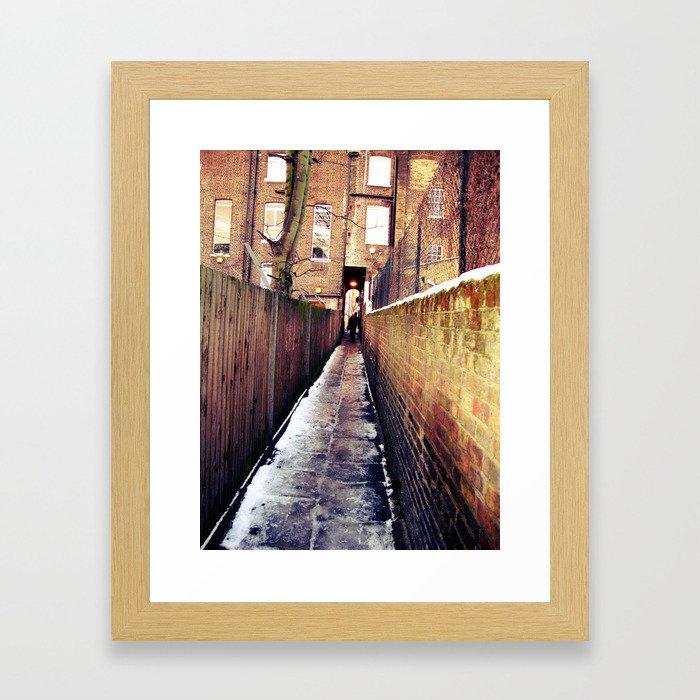 Lonely London Framed Art Print