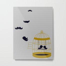 Fly Free Metal Print