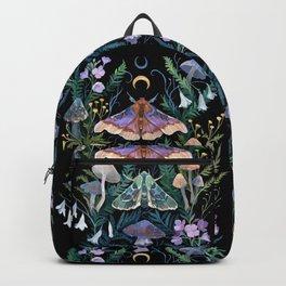 Sphinx Moth Moon Garden Backpack
