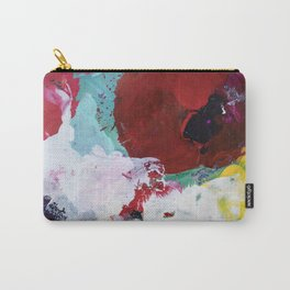 The Artist's Remains #3 (Poppy Abstract) Carry-All Pouch