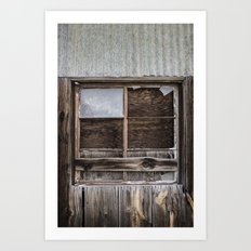Santa Rosa Stripped Art Print
