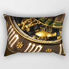 vintage clock_15 Rectangular Pillow