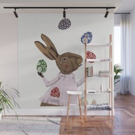 Hare-y Adventures Wall Mural