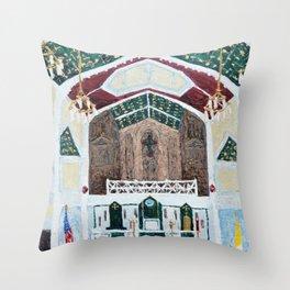 St. Thomas More Cathedral, Arlington, Virginia Throw Pillow
