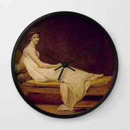 Madame Récamier Jacques Louis David Wall Clock