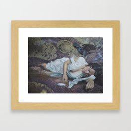 Grief Framed Art Print