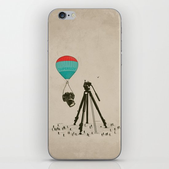 Supersize Cam Attraction iPhone & iPod Skin