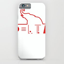 GGT 1913 Heartbeat Elephant Sorority Gift New Sister T-Shirt iPhone Case