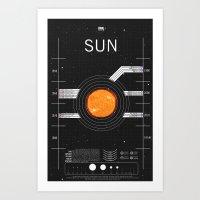 OMG SPACE: Sun 1960 - 2010 Art Print