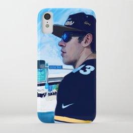 Genomalu - Hockey great Evgeni (Geno) Malkin sports a Troy Polamalu jersey iPhone Case