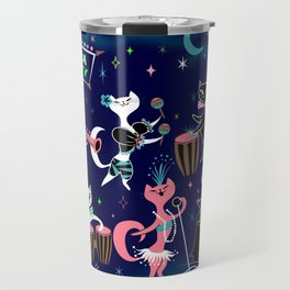 Mambo Kitties Travel Mug