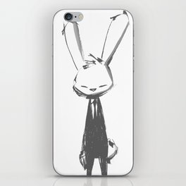 minima - beta bunny pose iPhone Skin