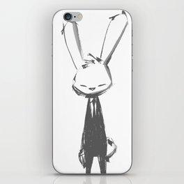 minima - beta bunny pose iPhone Skin