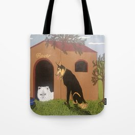 Ornery, Unwelcome House Guest Tote Bag